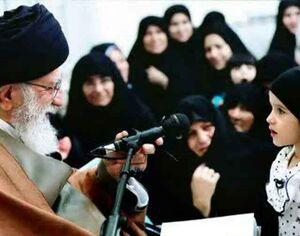 دختر شهید مدافع حرم