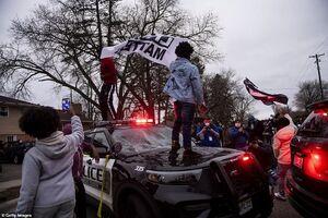 عکس/ آغاز دوباره اعتراضات در آمریکا