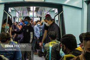 عکس/ حمل و نقل عمومی مشهد در وضعیت قرمز