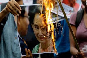 اتهامات جدیدی علیه «آنگ سان سو چی» مطرح شد