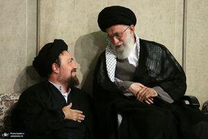 سید حسن خمینی رهبر انقلاب