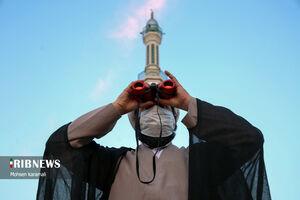 عکس/ استهلال ماه مبارک رمضان ۱۴۰۰