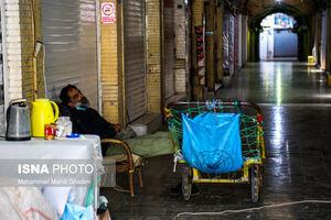 عکس/ تعطیلی اصناف  بندرعباس در پیک چهارم کرونا