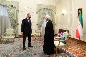 عکس/ دیدار وزیر خارجه روسیه با روحانی