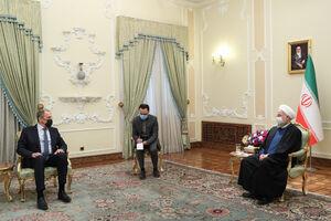 دیدار وزیر خارجه روسیه با روحانی