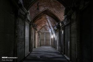 عکس/ حجرههای بسته بازار تبریز