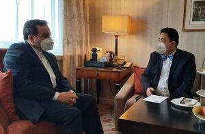 عراقچی با رئیس هیئت چینی در وین دیدار کرد