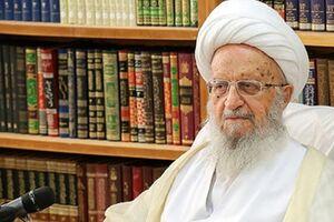 آیت الله مکارم شیرازی در بیمارستان بستری شد - کراپشده