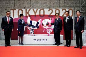 عکس/ رونمایی از نماد عروسکی بازیهای المپیک ۲۰۲۰