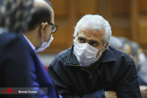 عکس/ دومین جلسه رسیدگی به اتهامات حسن رعیت