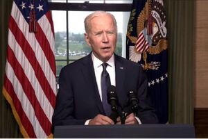 بایدن: خروج نیروها از افغانستان از ۱۱ اردیبهشت آغاز میشود