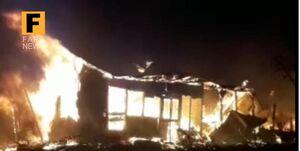 آتشسوزی در «میانکاله»