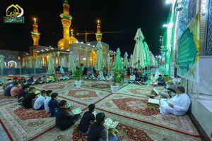 عکس/ محفل انس با قرآن ماه مبارک رمضان در کاظمین