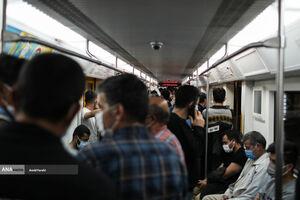 مترویی که این روزها ارّابه مرگ است +عکس