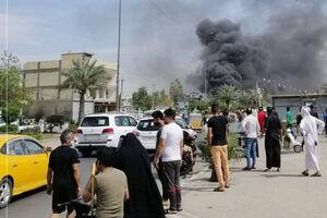 اولین تصویر از انفجار در بغداد