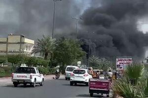 اولین تصاویر از انفجار در شرق بغداد