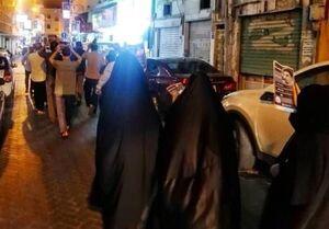 فیلم/ تظاهرات شبانه مردم بحرین در حمایت از فلسطین