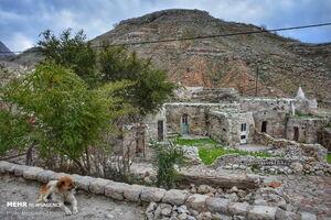 عکس/ روستای سنگی با قدمت ۷۰۰ سال