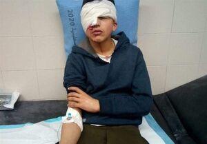 حمله وحشیانه صهیونیست ها برای دستگیری یک کودک+ فیلم