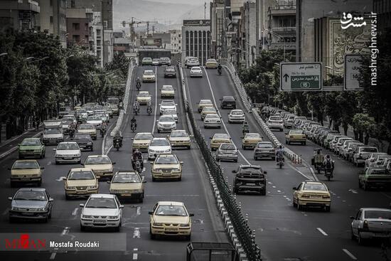 عکس/ تهران در محاصره کرونا