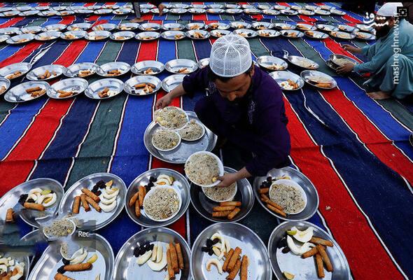 افطاری در پاکستان