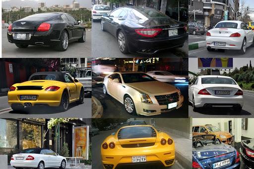 لوکس ترین خودروهای وارداتی در بازار خودرو ایران