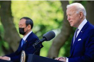 سران آمریکا و ژاپن درباره تنگه تایوان بیانیه صادر کردند