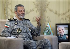 فرمانده کل ارتش: قدرت بازدارندگی نیروهای مسلح یک اهرم راهبردی در دیپلماسی است