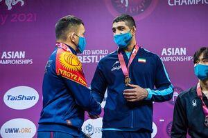 بنا تصمیمش را گرفت/ پدیده کشتی ایران برای گرفتن سهمیه المپیک اعزام می شود