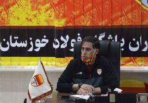 نامه آذری به علی عسگری درباره عدم پخش دیدار فولاد