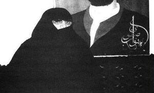 همسر شهید «سید مجتبی نواب صفوی» رهبر فدائیان اسلام آسمانی شد