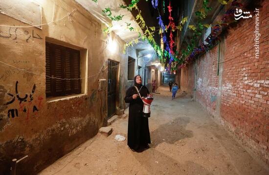عکس/ بیدار کردن مسلمانان برای سحری