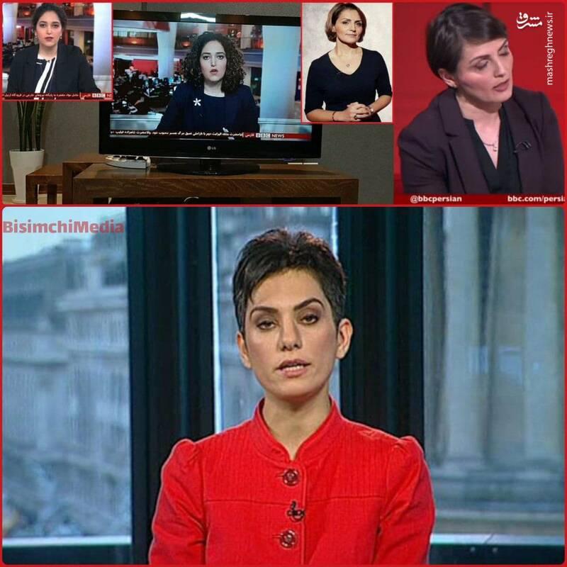 تفاوت لباس مجریان بیبیسی در شب تاسوعا با ایام مرگ همسر ملکه +عکس