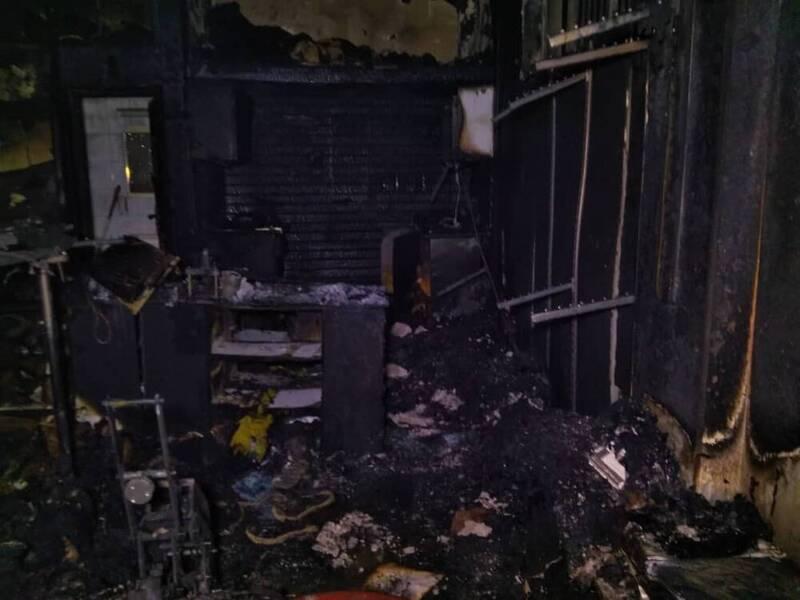 جزئیات آتش سوزی در پاساژ مهستان +عکس