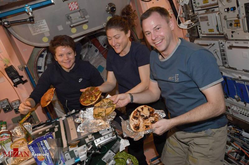 عکس/ غذاهای فضایی