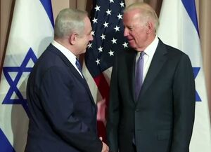 نتانیاهو بایدن نتانیاهو