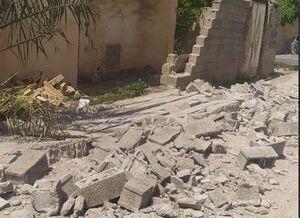 نخستین تصویر از خرابی ناشی از زلزله در بندرگناوه