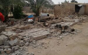 عکس/ خسارت زلزله در برخی روستاهای گناوه