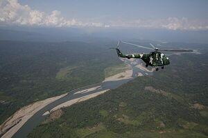 ۱۰ کشته و زخمی در سقوط بالگرد نظامی