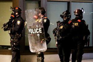 پلیس آمریکا سومین نیروی نظامی بزرگ جهان - کراپشده