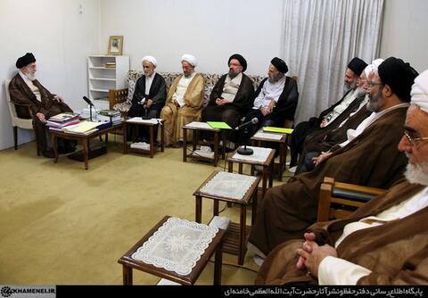 برنامه را رها کن؛ از کارنامه بگو آقای مرعشی!/ آیتاللهی که تصویرش در اتاق ملاقات رهبری قرار دارد