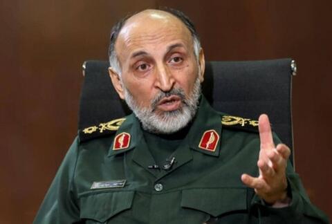 فیلم/ جزئیات عروج ملکوتی سردار حجازی از زبان سخنگوی سپاه پاسداران