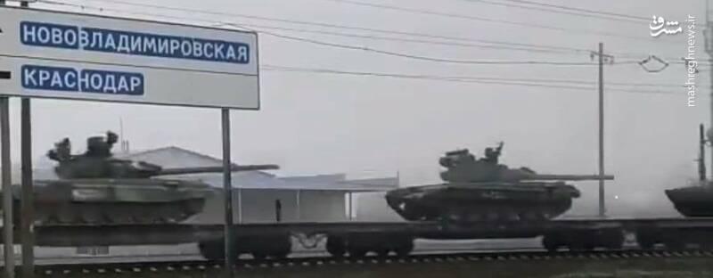 لشکرکشی عجیب خرس بزرگ به شبه جزیره کریمه/ ارتش روسیه چه هدفی دارد؛ دفاع از دونباس یا حمله به عمق خاک اوکراین؟ +فیلم و تصاویر