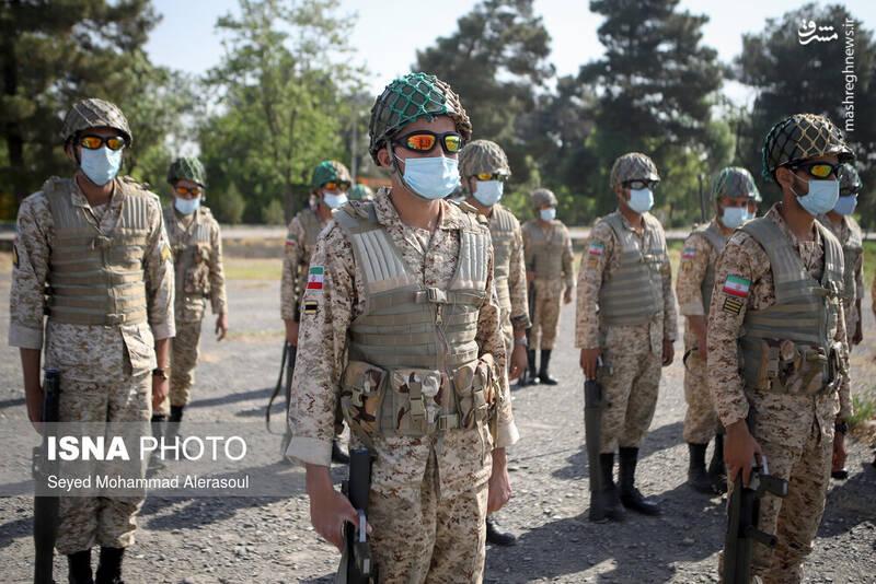 مراسم روز ارتش - مشهد