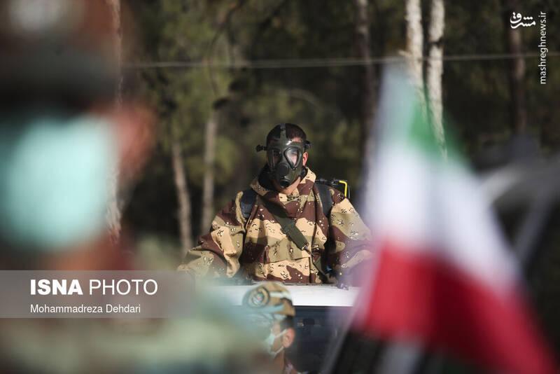مراسم روز ارتش - شیراز