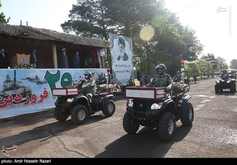 مراسم روز ارتش - قزوین