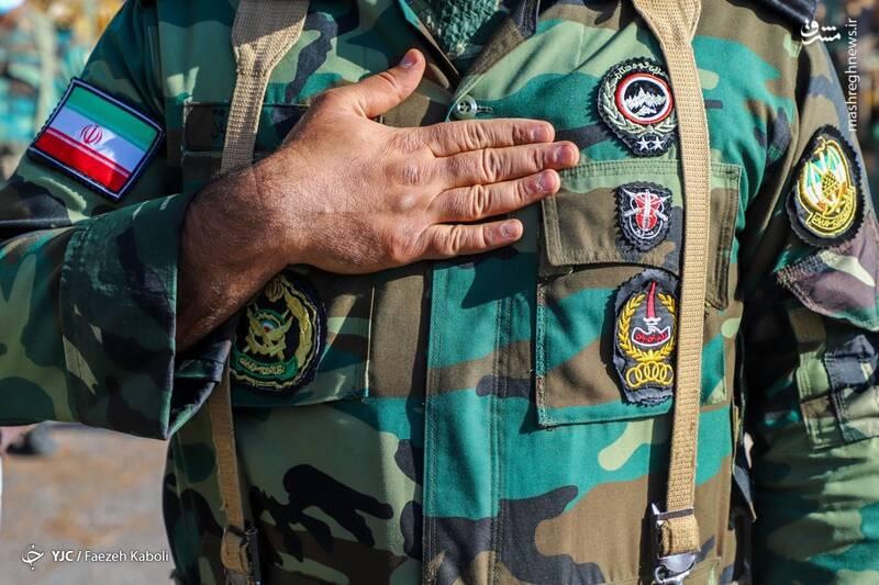 مراسم روز ارتش - گلستان