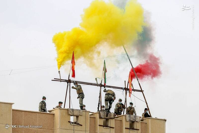 مراسم روز ارتش - تبریز