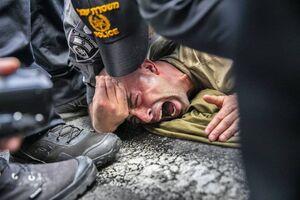 عکس/ اعتراضات علیه سازمان معلولین جنگی ارتش اسرائیل