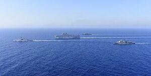 آنکارا کشتیهای فرانسه و یونان را از فلات قاره ترکیه بیرون راند